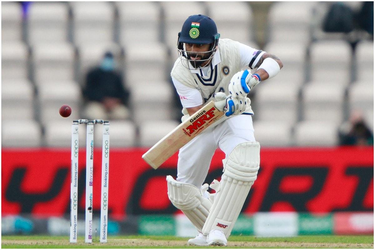 पहले टेस्ट मैच में केएल राहुल और रवींद्र जडेजा के अलावा कोई बल्लेबाज नहीं चल पाया. कप्तान विराट कोहली गोल्डन डक हो गए. चेतेश्वर पुजारा 4 रन ही बना पाए. केएल राहुल ने पहली पारी में 84 रन और दूसरी पारी में 26 रन बनाए थे. (AP)