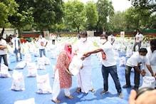 राहुल गांधी के Birtday पर युवा कांग्रेस ने जरूरतमंदों को बांटी राशन किट-राशि