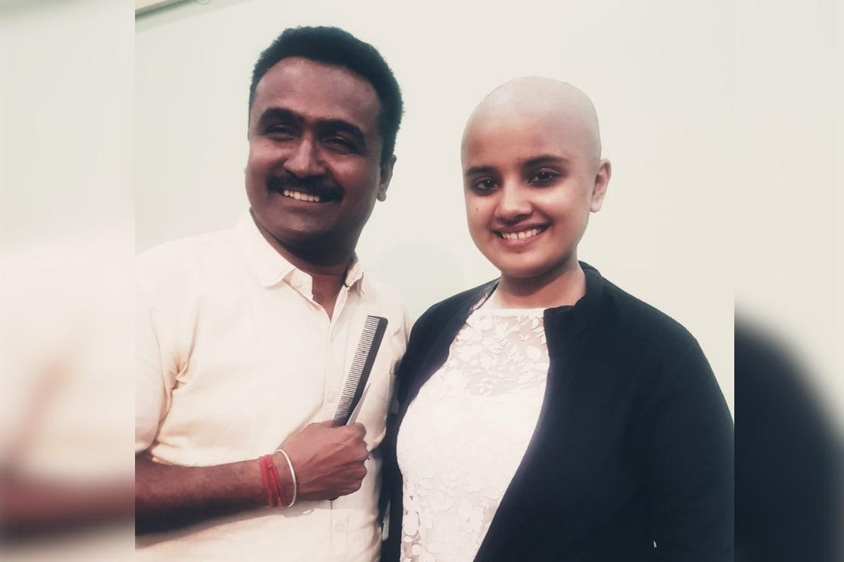 अनूठी पहल: अजमेर की युवती ने कैंसर पीड़ितों के लिये डोनेट किये अपने खूबसूरत बाल, जानिये पूरी कहानी Rajasthan News-Ajmer News-Unique initiative-young girl donated her beautiful hair for cancer victims