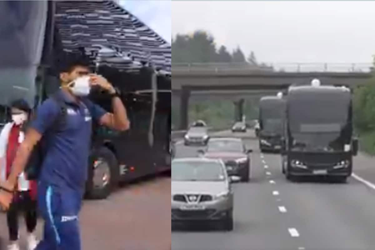 Team India reached London by chartered flight and then caught bus for Southampton, see in the video – how was the journey