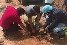 विश्व पर्यावरण दिवस पर धोनी ने समझायी हरियाली की अहमियत, लगाये पौधे
