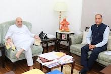 हिमाचल में उपचुनावों की तैयारियां तेज, दिल्ली में शाह से मिले CM जयराम ठाकुर
