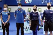 ISSF World Cup : सौरभ चौधरी और मनु भाकर की जोड़ी ने जीता रजत पदक