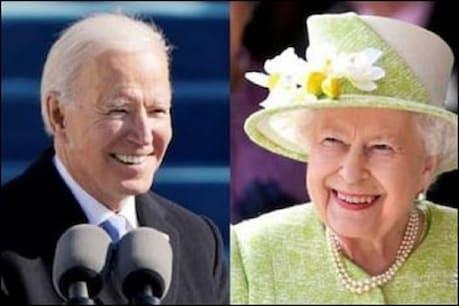 अमेरिका के राष्ट्रपति जो बाइडन और ब्रिटेन की महारानी एलिजाबेथ II (फाइल फोटो)