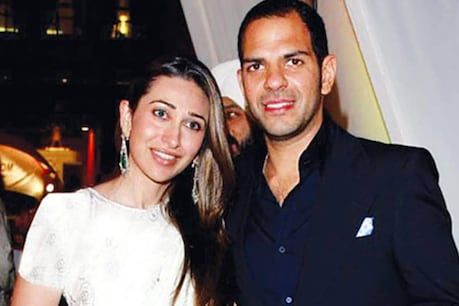 Karisma married Sanjay Kapoor in 2003.  (File photo.)