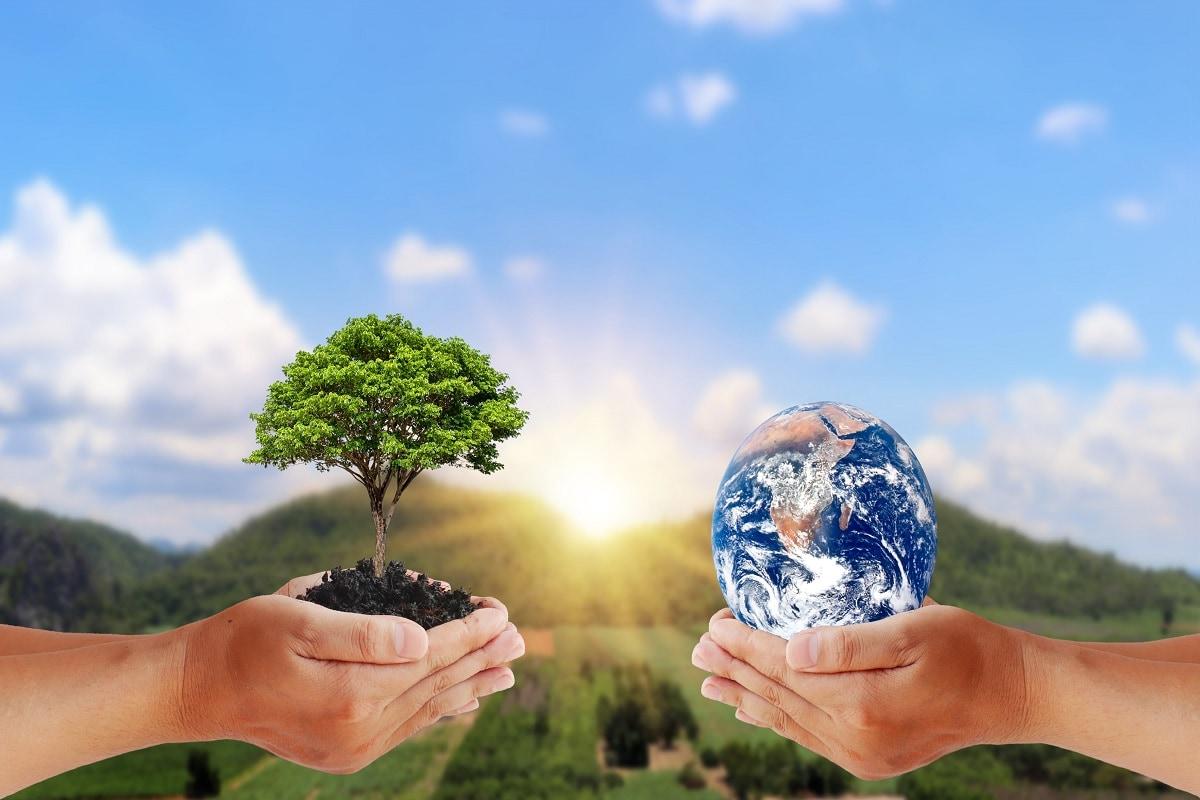 World Environment Day 2021: वर्तमान समय में पर्यावरण असंतुलन ने ग्लोबल वॉर्मिंग (Global Warming) की समस्या को जन्म दिया है और इसकी वजह से पृथ्वी का तापमान लगातार बढ़ रहा है, जो कि मानव जीवन के लिए खतरनाक है. ऐसे में यह और भी जरूरी हो गया है कि लोगों को पर्यावरण और इसे बचाने के प्रति जागरूक (Aware) करने के लिए अहम कदम उठाए जाएं. आइए जानें वे कौन से छोटे-छोटे उपाय हैं जिन्हें अपना कर हम पर्यावरण की रक्षा में योगदान दे सकते हैं-All Images/shutterstock