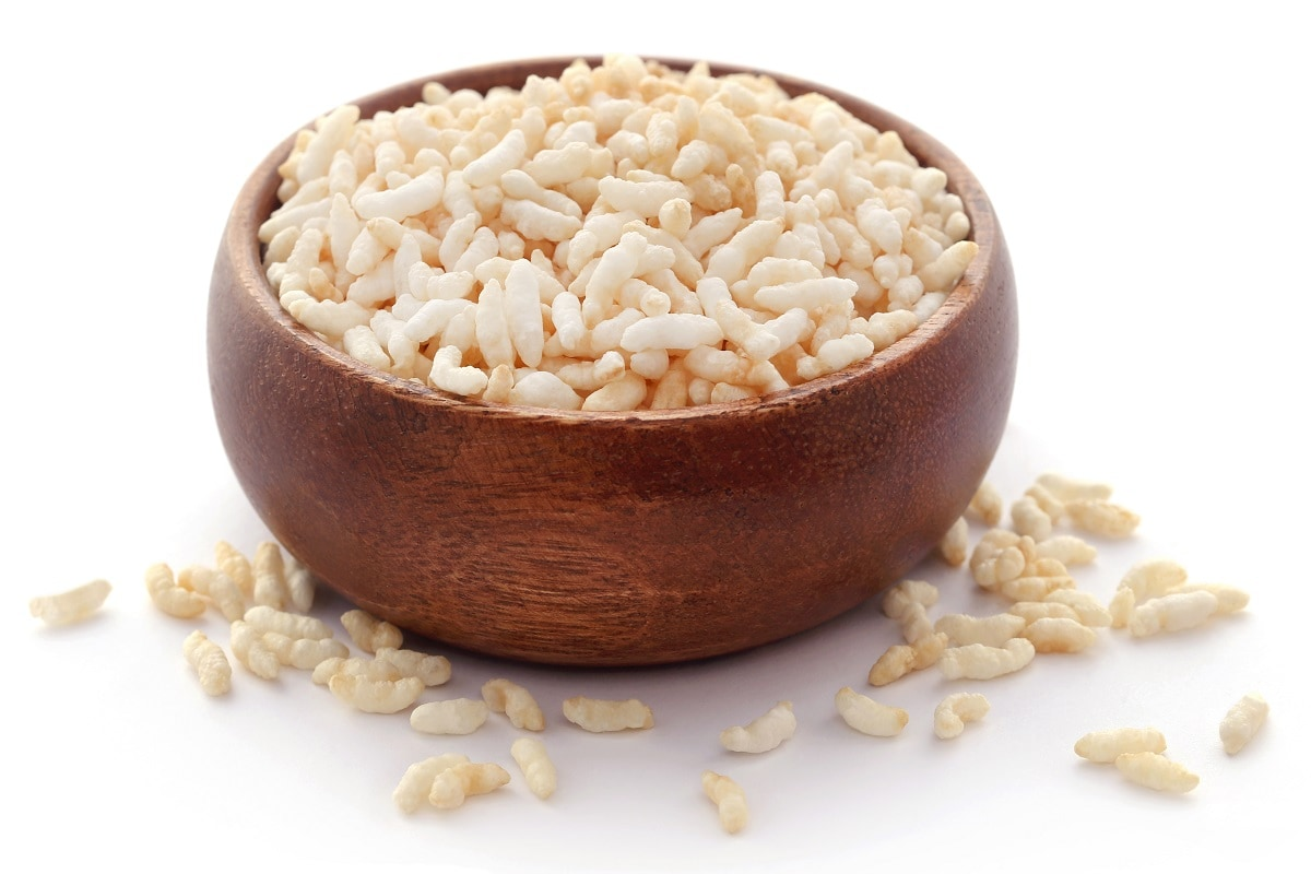 puffed rice or murmure benefits for health