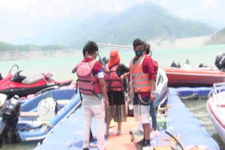 Tourists coming to Tehri Lake will have to follow the Corona Guidelines.