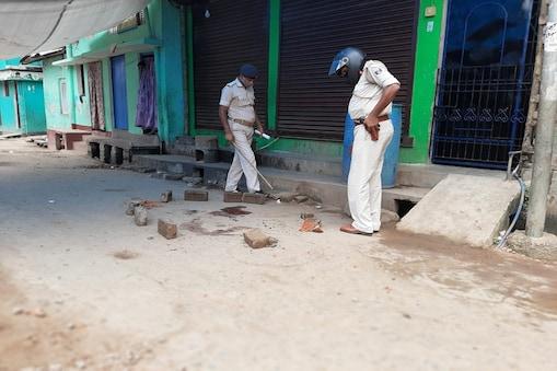 पटना में हुई हत्या की घटना के बाद मामले की जांच के लिए पहुंची पुलिस