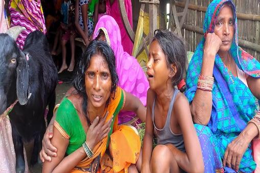 यूपी के बाराबंकी में हादसे का शिकार होने वाले बिहारी मजदूरों के परिजन