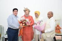 सहकारी क्षेत्र की प्रमुख हस्तियों ने गृह मंत्री अमित शाह से मुलाकात की