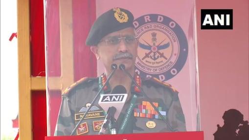 सेना प्रमुख जनरल मनोज मुकुंद नरवणे . ( फाइल फोटो )