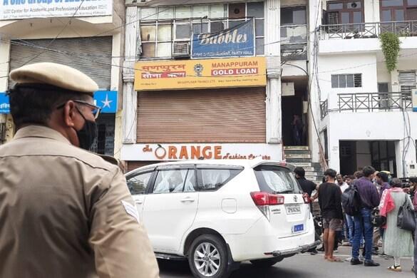 मणप्पुरम गोल्ड लोन की ब्रांच में 18 किलो सोना और 5 लाख कैश की लूट