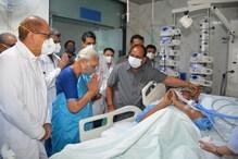 कल्याण सिंह ऑक्सीजन सपोर्ट पर, राज्यपाल आनंदीबेन ने PGI पहुंचकर जाना हाल