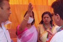 मथुरा: महिला प्रदेश अध्यक्ष ने कांग्रेस के नेताओं पर लगाया बदसलूकी का आरोप