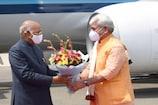 जम्मू-कश्मीर और लद्दाख के चार दिवसीय दौरे पर श्रीनगर पहुंचे राष्ट्रपति कोविंद
