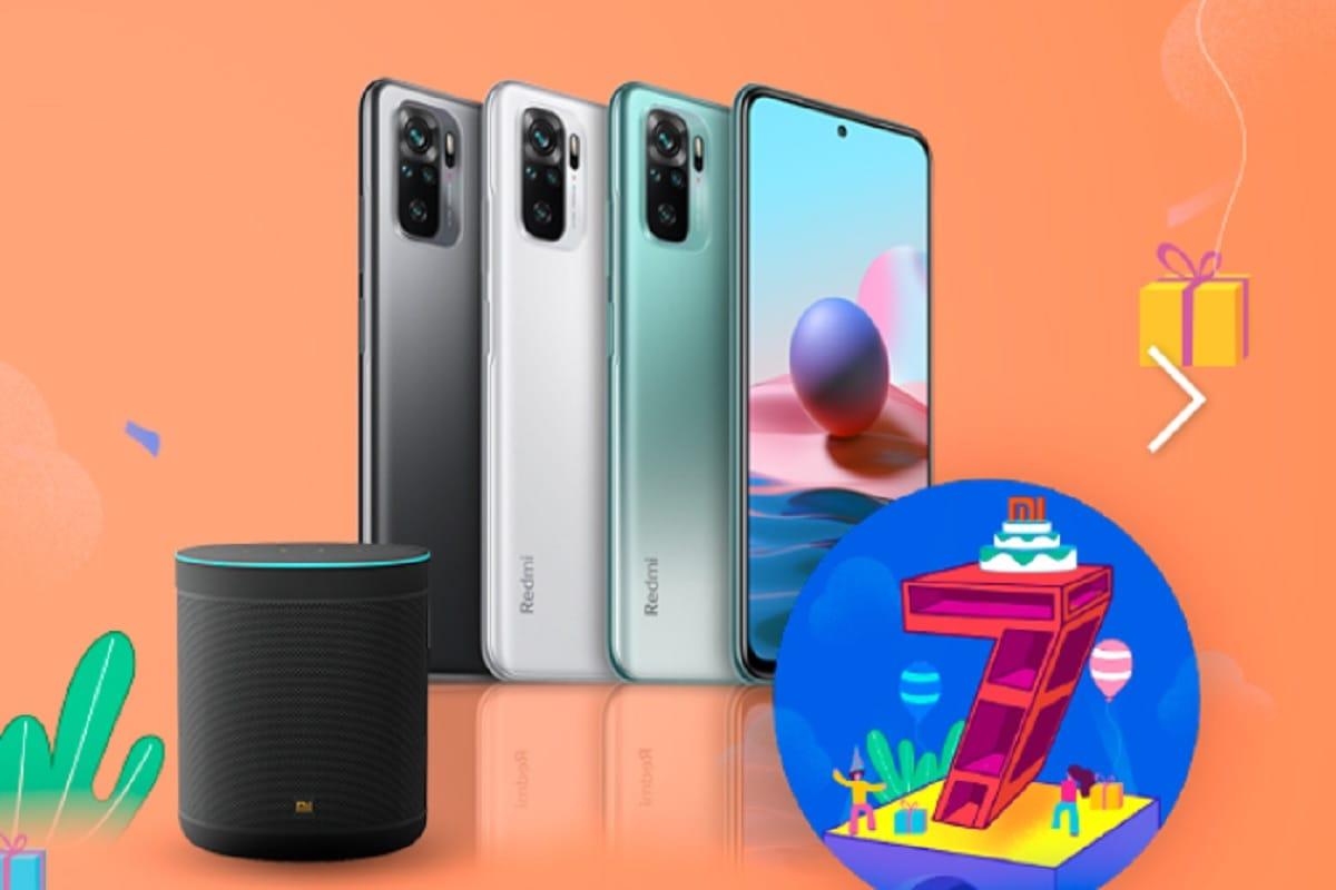 Xiaomi fans good news get free wifi smart speaker with budget phone redmi note 10 in mi sale price slash offer aaaq– News18 Hindi