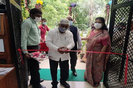 मंत्री राजेन्द्र पाल गौतम ने नशामुक्ति केंद्र वन स्टॉप सेंटर सूर्योदय का उद्घाटन किया.