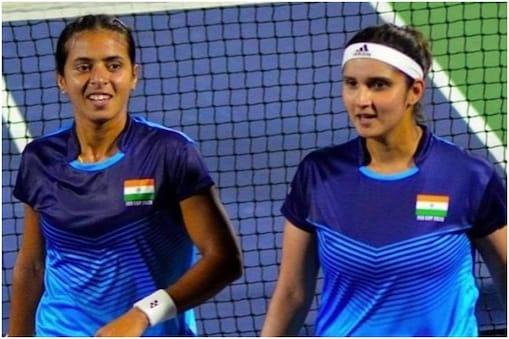 सानिया मिर्जा और अंकिता रैना की जोड़ी टोक्यो ओलंपिक में टेनिस के महिला डबल्स में दावेदारी पेश करेगी. (Ankita Raina Instagram)