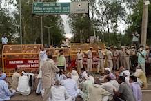 किसानों ने बबीता फोगाट को दिखाए काले झंडे, पुलिस ने बड़ी मुश्किल से निकाला