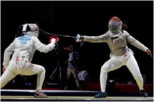 Tokyo Olympics: भवानी देवी ने दूसरे रांउड तक जगह बनाई. (AP)