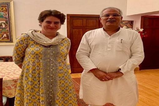 प्रियंका गांधी ने छत्तीसगढ़ कांग्रेस के नेताओं को उत्तर प्रदेश भेजने को कहा है और बैठक के दौरान चुनावी राज्य में बूथ प्रबंधन पर चर्चा हुई.
