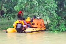 NDRF ने बाढ़ में फंसे 153 लोगों को निकाला सुरक्षित, 13 लोगों की बचाई जान