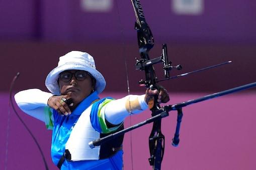 Tokyo Olympics: दीपिका कुमारी पहली बार सेमीफाइनल में पहुंची हैं. (AP)