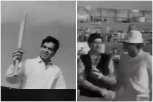 Dilip kumar Death: जब नेक मकसद से दिलीप कुमार और राज कपूर की टीमों के बीच क्रिकेट मैच हुआ था.(Naeem Khan youtube)