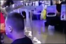 VIDEO: चीन में बाढ़ का प्रकोप, पानी में डूबी मेट्रो, यात्रियों का बुरा हाल