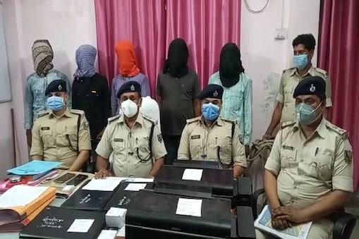 गोपालगंज में बाइक चोर गैंग काे पाच आरोपी गिरफ्तार.