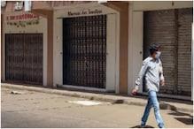 कोरोना गाइडलाइन के उल्लंघन के कारण दिल्ली का लाजपत नगर मार्केट हुआ बंद