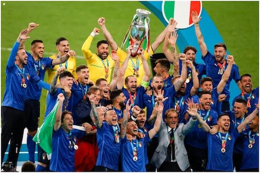 Euro 2020: इटली ने दूसरी बार खिताब जीता. (AP)