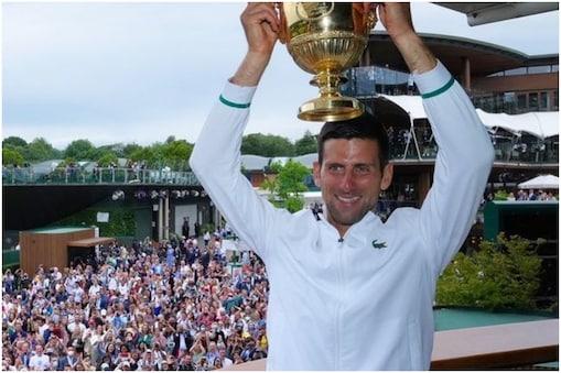 दुनिया के नंबर-1 टेनिस खिलाड़ी नोवाक जोकोविच ने बीते हफ्ते छठी बार विंबलडन का खिताब जीता था. (Novak Djokovic Instagram)