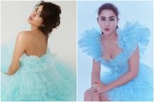 जाह्नवी कपूर या सारा अलीः नीली ड्रेस में कौन है बेहतर? फैंस के बीच छिड़ी बहस