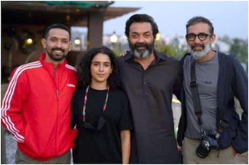 फिल्म 'लव हॉस्टल' की शूटिंग तीन शहरों भोपाल, पटियाला और मुंबई में हुई है. (फोटो साभारः Instagram/vikrantmassey)