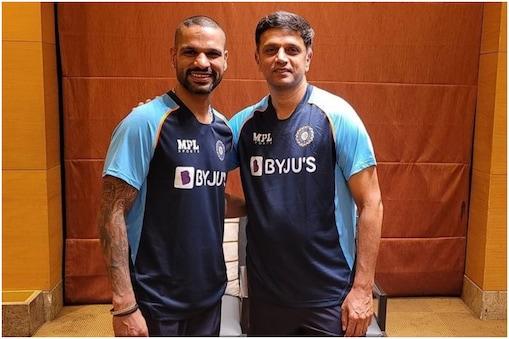 IPL 2021: राहुल द्रविड़ ने दुष्मंता चमीरा की तारीफ की थी अब आरसीबी ने कॉन्ट्रैक्ट दिया(Shikhar Dhawan Instagram)