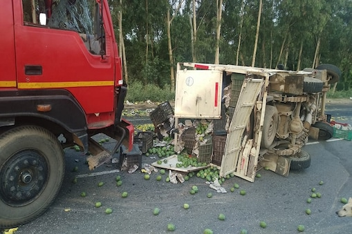 गोहाना में दर्दनाक सड़क हादसे में दो लोगों की मौत
