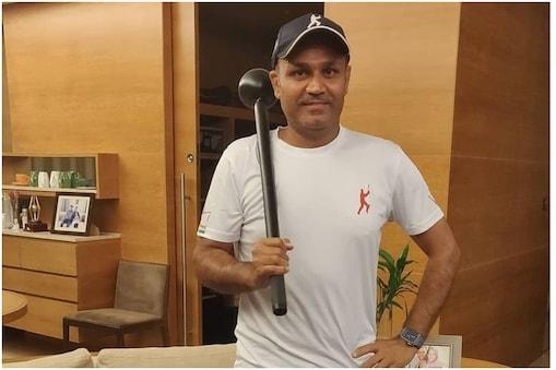 IND vs SL: वीरेंद्र सहवाग(Virender Sehwag) 2010 में श्रीलंका के खिलाफ एक वनडे में 99 रन पर छक्का मारने के बाद भी शतक पूरा नहीं कर पाए थे. तब उन्होंने श्रीलंकाई टीम पर खेल भावना का पालन न करने का आरोप लगाया था. (Virender Sehwag Instagram)