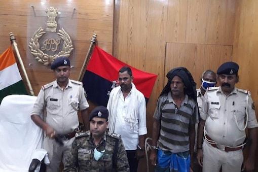 बिहार के लखीसराय में दो हार्डकोर नक्सली गिरफ्तार