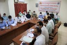 Una: केंद्रीय मंत्री अनुराग ठाकुर ने योजनाओं की समीक्षा की, फंड पर मांगा जवाब
