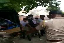 पुलिसवालों का दुकानदार पर फूटा गुस्सा, महज इतनी सी बात के लिए कर दी पिटाई