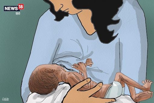 कोरोना के खिलाफ नवजातों में एंटीबॉडी बनाने में कारगर है स्तनपान.