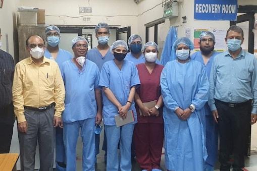 FSL और अम्बेडकर अस्पताल के 4 डॉक्टरों की टीम ने दिल्ली में सफलतापूर्वक पहला नार्को टेस्ट किया.