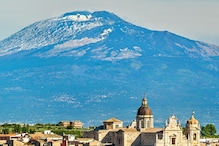 लंबा हो रहा है इटली का ज्वालामुखी माउंट एटना, बना डाला नया रिकॉर्ड