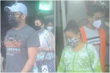 PHOTOS: कपिल शर्मा अपनी पत्नी के साथ वैक्सीन लगवाने पहुंचे, मिला भारती सिंह का साथ