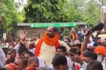 जंतर-मंतर नारेबाजी मामला: पिंकी चौधरी ने थाने जाकर किया सरेंडर, हुआ गिरफ्तार
