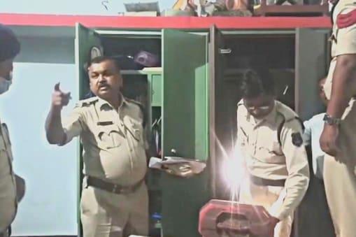 सूरजपुर में रिटायर्ड कर्मी के घर से मिला अवैध हथियार.