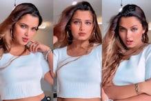 Bhojpuri Actress नीलम गिरी ने पवन सिंह के गाने 'ओढनी से मार देबे लू' पर Video