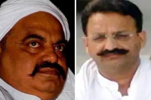 UP: जेल में बंद माफिया अतीक अहमद (बाएं) और माफिया मुख्तार अंसारी की संपत्तियों की ईडी ने जांच तेज कर दी है. (File Photo)